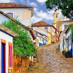 Tiradentes em Minas Gerais - Brazil