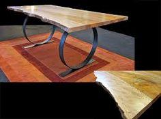 Resultado de imagen para live edge wood furniture