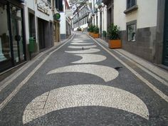 calçada portuguesa na Ilha da Madeira - Recherche Google