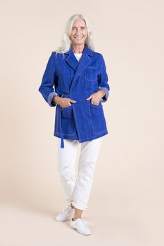 Sienna Maker Jacket Pattern - Mid length // Utility and Chore Jacket Pattern // Closet Case Patterns Dress Making Patterns, Coat Patterns, Print Patterns, Sewing Patterns, Sewing Ideas, Sewing Magazines, Thing 1, Bias Tape, Jacket Pattern