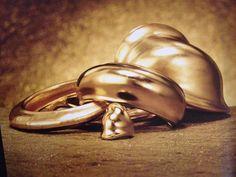 Robert Lee Morris cuffs and ring #robertleemorris #jewelry #fashion #gold