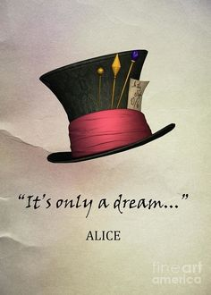 It's only a dream. Alice in wonderland It's only a dream. Alice in wonderland Alicia Wonderland, Alice And Wonderland Quotes, Adventures In Wonderland, Wonderland Party, Lewis Carroll, Film Tim Burton, Go Ask Alice, Chesire Cat, Alice Madness