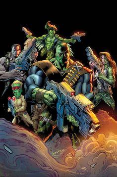 "Doc Green Flexes Mental & Physical Might in Act II of Duggan's ""Omega Hulk"" #gammacorps"