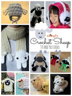 10 Free Crochet Sheep Patterns