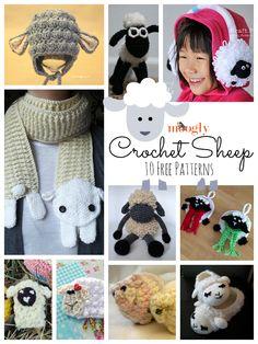 10 Free Crochet Sheep Patterns