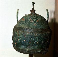 Celtic bronze iron Helmet Canosa Apulia Italy 6th 3rd century BC