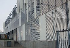 RMIG: Leanmark Horsens, expanded metal for sun screens