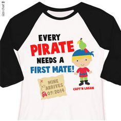 Hey, I found this really awesome Etsy listing at https://www.etsy.com/listing/177730505/pirate-big-brother-shirt-first-mate