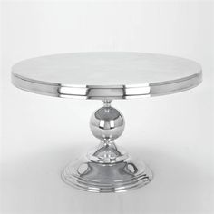 Aspire Home Accents 30780 Round Aluminum Cocktail Table