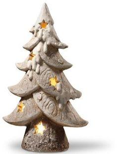 Christmas Clay, White Christmas, Christmas Tree, Holiday Tree, Holiday Ornaments, Holiday Decor, Clay Christmas Decorations, Ornament Box, Clay Ornaments