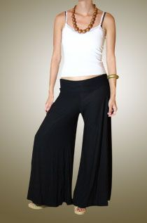 Jersey Gaucho Pants - I lived in these for a year! Style of early ...