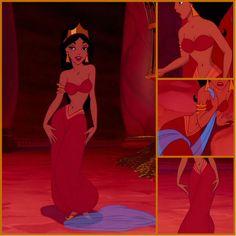 Disney Jasmine Red Dress Fashion Dresses