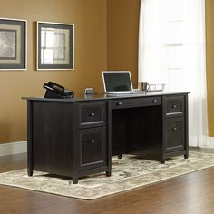 Executive Computer Desk for Home - Living Room Sets ashley Furniture Check more at http://www.gameintown.com/executive-computer-desk-for-home/