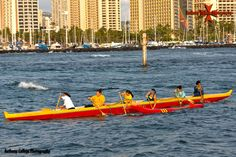 Hawaii Canoe Races