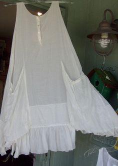 Slip dress w/pockets?