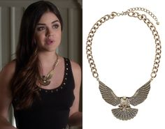 """This really doesn't happen that often but, would you believe it, Aria's necklace from """"Hot for Teacher"""" is still ava..."""