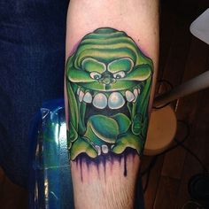 Ghostbusters Tattoo