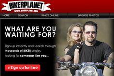 BikerPlanet is a dating site for bikers to find friendship and more , Sign Up Now