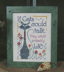 Designs By Lisa - If Cats Could Talk – Stoney Creek Online Store