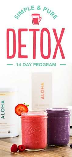 Detox your diet! Start looking and feeling better in only 14 days with a holistic approach to detoxification. Your program comes with whole food protein, delicious superfoods, and a robust vitamin blend.