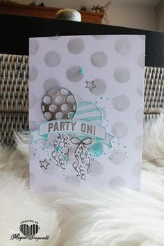 Magical Scrapworld: Party on, balloon adventures, cards, spring catalogue 2017, Stampin' Up!,