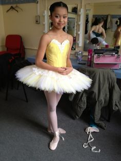 This tutu suits her perfectly and has the correct length of tutu skirt to my liking. Not too long not too short.