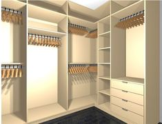 Creative Storage Decor 43 DIY Closet Concepts for Your Small Bedroom Walk In Closet Design, Bedroom Closet Design, Master Bedroom Closet, Bedroom Wardrobe, Wardrobe Closet, Closet Designs, Attic Closet, Bathroom Closet, Shoe Closet