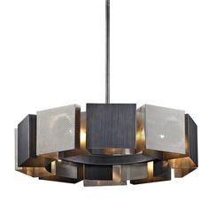ACE Chandelier by Troy Lighting Pendant Light Fixtures, Ceiling Fixtures, Ceiling Lamp, Pendant Lamp, Pendant Lighting, Ceiling Lights, Ring Chandelier, Globe Chandelier, Chandeliers