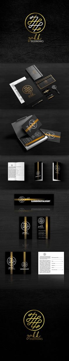 Basic elements of a jewelers corporate identity. This one was done for Holistic Trade Co. who is our main partner and does all of our production work, from large prints, to the smallest elements. For all print enquiries please e-mail: info@holistictrade.hu #branding