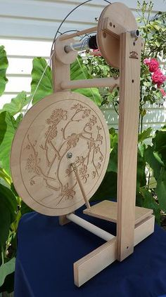 pretty spinning wheel spinning-and-knitting-supplies