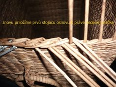 Trojpárová uzávierka Garden Tools, Picnic, Basket, Vintage, Dna, Weaving, Step By Step, Photograph Album, Closure Weave