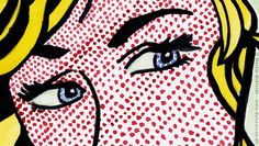 The Eyes of the Blonde after Roy Lichtenstein (detail), Martin Missfeldt, 2006