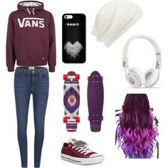 Penny board outfit i would definitely wear
