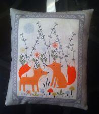 Fox Gift / Fox Fabric Lavender Bag / Forest Animals Gift - Handmade