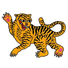 Dancing Tiger Patch