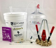 Start making your own wine at home with our Winemaking Starter Kit