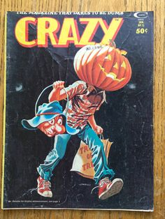 Crazy Magazine Trick or Treat January 1976 No. 15 by LeftoverStuff