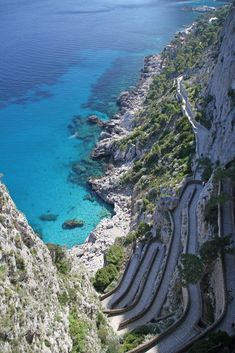 Capri Island Path   Italy