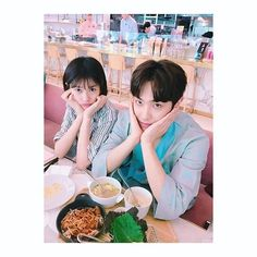 Actors Jung So-min and singer/actor Lee Joon took a picture together. Jung So-min posted this picture on her SNS recently and said, 'You shouldn't walk around in robes at the hospital. 'Father Is Strange''. Korean Celebrity Couples, Korean Celebrities, Korean Actors, Celebs, Korean Drama Romance, Wattpad Quotes, Playful Kiss, Korean Entertainment News, Jung So Min
