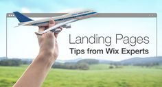 Wix's own online marketing experts wrote down these tips for creating a powerful landing page that generates real results