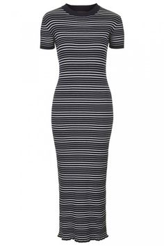 Photo 1 of Knitted Stripe Maxi Dress Stripped Maxi Dresses, Best Maxi Dresses, Short Sleeve Dresses, Dress Skirt, Bodycon Dress, Pretty Summer Dresses, Spring Summer Trends, Dress Images, Spring Collection