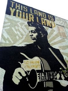 Woody Guthrie Museum in Tulsa