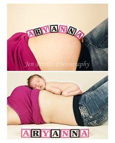 Babybauch-> Baby