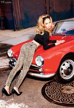 Jennifer Lawrence para la edición de febrero de la revista Vanity Fair US