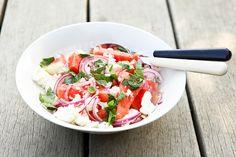 feta watermelon mint salad by photo-copy, via Flickr