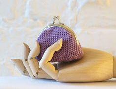 Pequeñas creaciones by Nika: Monedero de crochet tutorial
