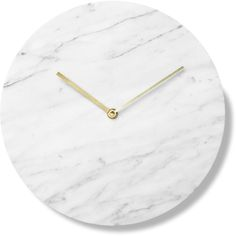 marble-clock-white-norm-architects-for-menu-1.png (1400×1403) ❤ liked on Polyvore featuring home, home decor, marble home decor, white home accessories and white home decor