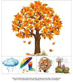 Seasons Activities, Autumn Activities For Kids, Fall Preschool, Preschool Learning Activities, Preschool Activities, Autumn Crafts, Autumn Art, Autumn Trees, Spring Crafts