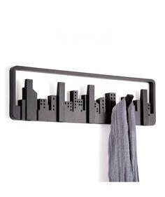 Skyline Negro - Perchero. $75.000 COP. Encuentra más productos Umbra para el hogar en https://www.giferent.com/umbra