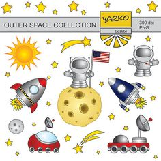 El espacio ultraterrestre Prediseñadas hombre en la por YarkoDesign